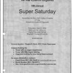 2006 04 08 Super Saturday - flier 1