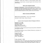 Utah Valley Chapter 2005-2006 Activities pg.2