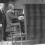 Dr. James Drake at the organ