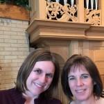 Alison Hansen and Terri Hudson