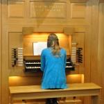 DSC_0075 playing the organ