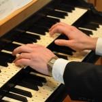 Tracker organ keyboard